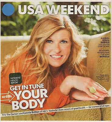 Connie Britton  2013 Usa Weekend Magazine