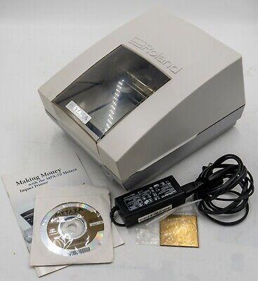 Roland Metaza Mpx-70 Metal Printer Engraver Engraving Machine