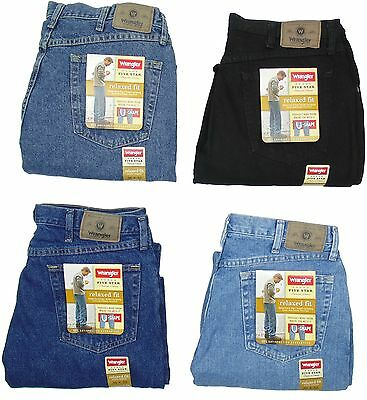 Купить Wrangler Five Star - Wrangler Mens Jeans Relaxed Fit Five Star Many Sizes Many Colors New With Tags