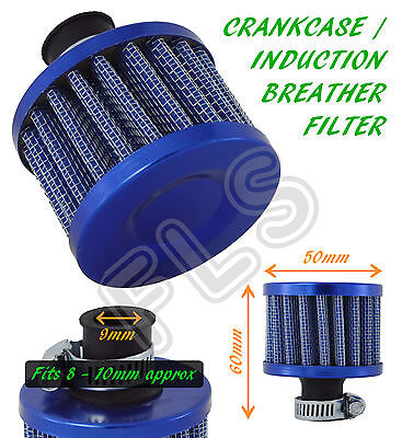 UNIVERSAL OIL MINI BREATHER AIR FILTER - FUEL CRANKCASE ENGINE CAR - BLUE –Rover
