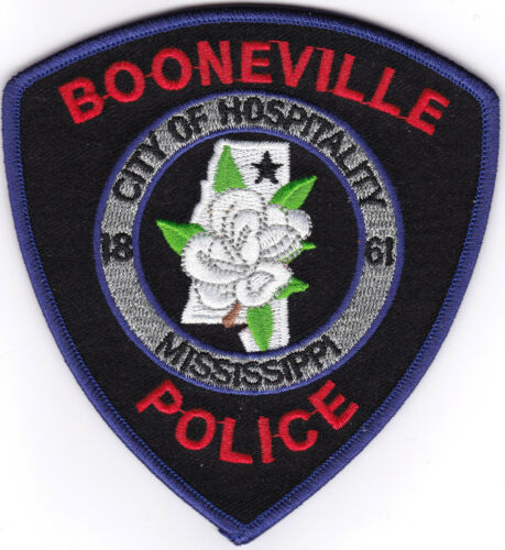 Booneville Police Patch Mississippi MS