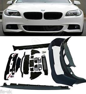 BMW 5 SERIES F10 M SPORT FULL BODYKIT 2010UP FRONT & REAR BUMPER SIDE SKIRTS