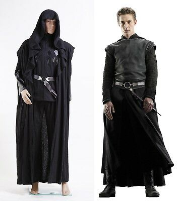 Harry Potter Death Eater Lord Voldemorts' Confederate Windbreaker Halloween Show (Confederate Halloween Costume)