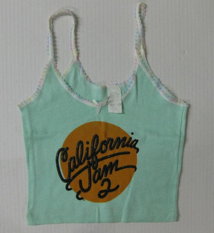 CALIFORNIA JAM 2 1978 Vintage GIRLS Concert Tank Top UNUSED Small? AEROSMITH