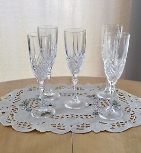 "Otaru Glass / Hokkaido Japan champagne flute glasses ""price each"
