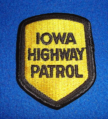 Iowa Highway Patrol Patch New Old Stock
