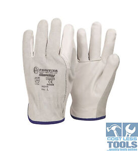 Leather-Riggers-Gloves-Size-L-12-Pairs