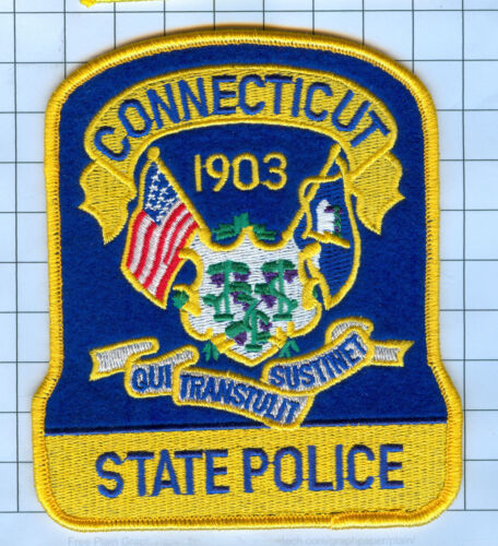 Police Patch - Connecticut - State Police 1903