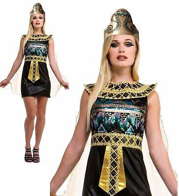 Donna Egiziano Donna Costume Faraone Egitto Costume Halloween Travestimento