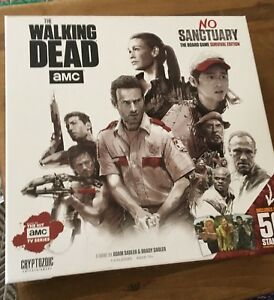 The Walking Dead: No Sanctuary Board Game.