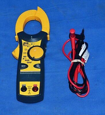 Ideal Industries 61-744 600-amp Clamp Meter