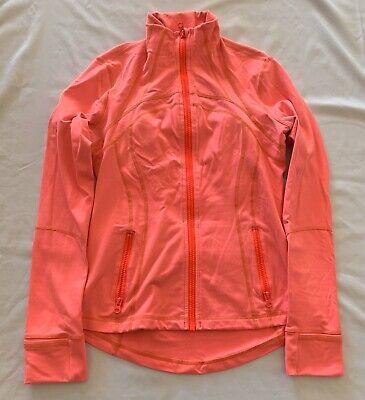Lululemon Women's Define Jacket Yoga Gym Workout Running Pink Size 10