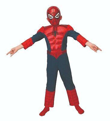 Rubies 3886923 - Ultimate Spider-Man Metallic Deluxe, Avengers - Spider Man Kostüme