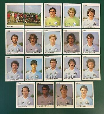 LOTTO DI 19 FIGURINE ALBUM CALCIATORI CALCIO FLASH 84 1983-84 LAZIO COMPLETA