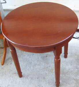 Coffee table, round timber Inala Brisbane South West Preview