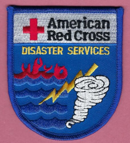 AMERICAN RED CROSS DISASTER SERVICES PATCH