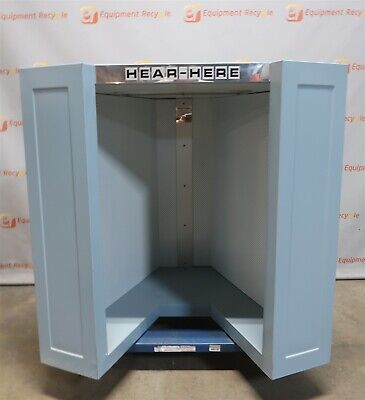 Adco Hear-here 45 Acoustic Acousti-booth Vocal Instrument Bench Top Table New
