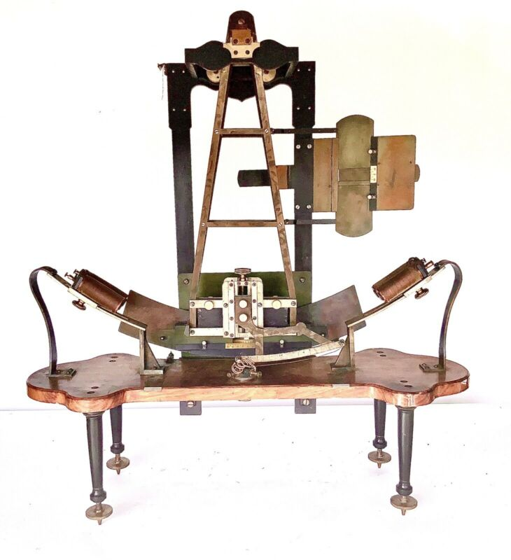 CA 1897 W. WUNDT  ELECTRIC PENDULUM TACHISTOSCOPE   ELECTRO MAGNETIC DEVICE