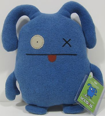 ULTRA RARE!!! Classic Blue OX IN WEDGEHEAD DISGUISE Uglydoll!! ONLY 100 EXIST!!! (Uglydoll Ox)