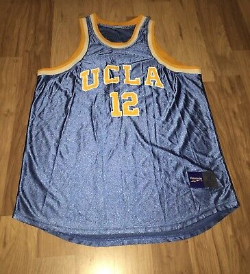Used, UCLA VINTAGE JERSEY BASKETBALL REEBOK 12 BLUE YELLOW for sale  San Diego