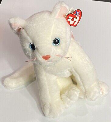 "Ty Beanie Babies 10"" BEANIE BUDDY FLIP the CAT with Tag"
