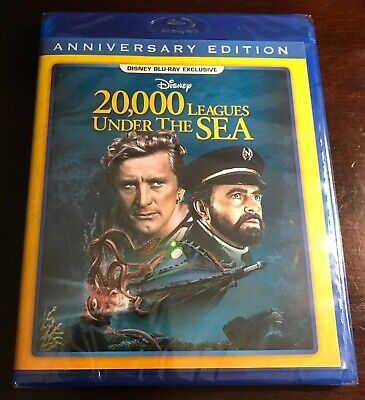 20,000 Leagues Under The Sea (1954) Disney Movie Club Exclusive NEW
