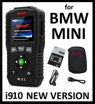 For BMW MINI DIAGNOSTIC SCANNER TOOL SRS ABS READER CODE SCAN iCarsoft BMM v1.0