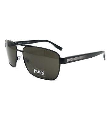 BOSS by Hugo Boss Sunglasses 0592S 6VB Matte Black Crystal Men 59x16x140