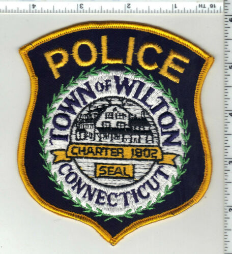 Wilton Police (Connecticut) 1st Issue Shoulder Patch