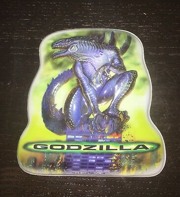 Vintage Godzilla Movie Pop Tops Cake Topper Decoration 90s Store Stock Birthday - Decorating Stores