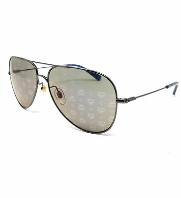MCM Sunglasses MCM117S 045 Silver Aviator Men's 60x14x145