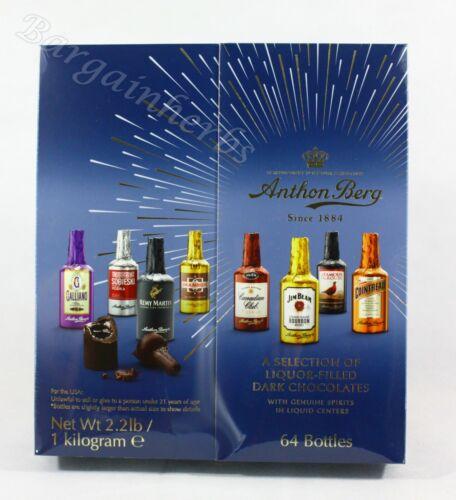 Anthon Berg 64 Pcs Dark Chocolate Liqueurs 2.2 Lbs New Nov. 2021 Free Shipping