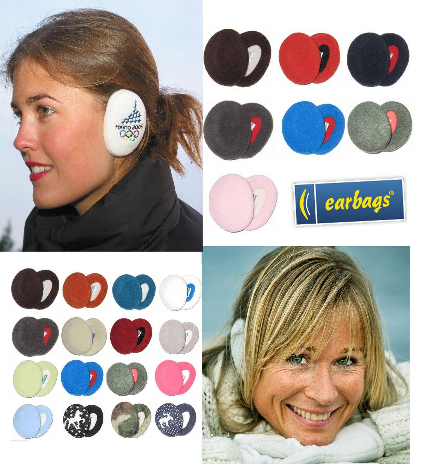 earbags Ohrwärmer Ohrenschützer  Mütze Ohrenwärmer Fleece viele Farben ! WOW