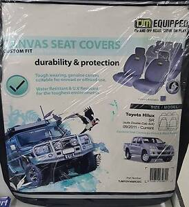 NEW TJM Canvas Seat Covers Hilux Dual Cab Traralgon Latrobe Valley Preview