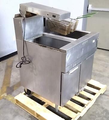 Dean Cfd150gnmc High Performance Natural Gas Deep Fryer Dump Station