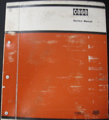 Case 1450b Crawler Loader Dozer Tractor Service Manual