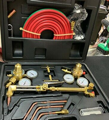 New Victor Type Torch And Guage Kit