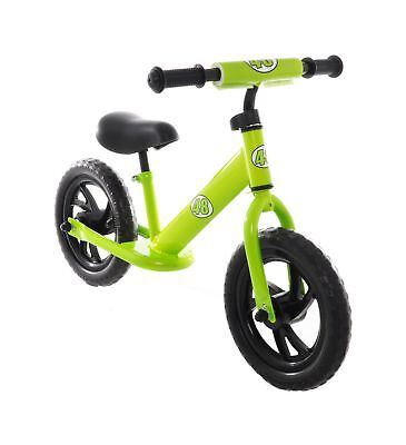 Vilano Rally Balance Bike Training No Pedal Push Bicycle Green