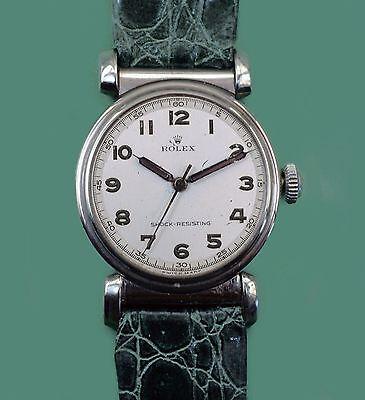 Vintage 1948 Super Unusual  Antique ROLEX Watch ORIGINAL  Dial Reference 336