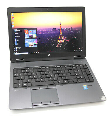 HP ZBook 15 G2 CAD Laptop: 32GB RAM, 4th Gen Core i7, 256GB+HDD, Warranty, VAT