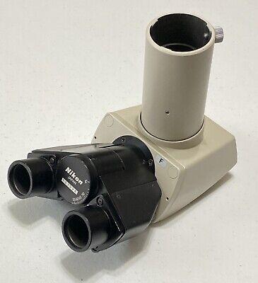 Nikon Trinocular Microscope Head F Model Optiphot Labophot Alphaphot