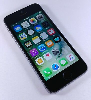 Apple Iphone 5S 32Gb Space Gray  Unlocked  A1533 Fair Condition
