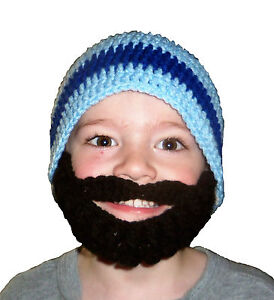 HANDCRAFTED-CHILD-ADULT-BEARDED-BEANIE-HAT-COOL