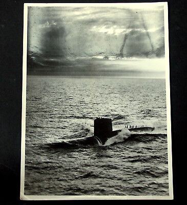 U Boot George Washington,Presse Foto,1960er,24 x 17,8 cm,USIS