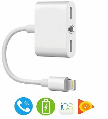 iPhone 7 Adapter, iPhone 8 Headphone Adapter【Support iOS 11 and Before】 Music...
