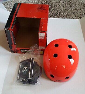 Bell Segment Jr Red Multi-Sport Helmet Skateboarding Youth X-Small