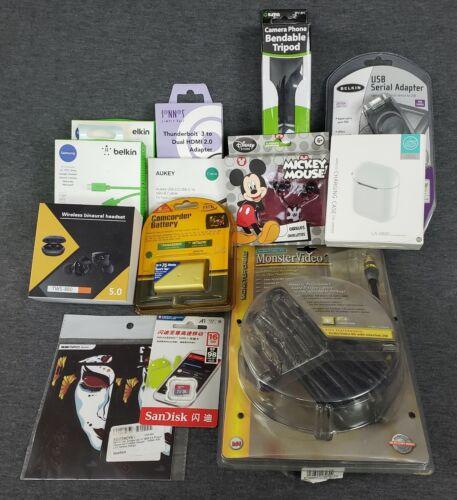 Brand New! Lot of 12 Amazon Electronics Mixed Lot Worth $$$