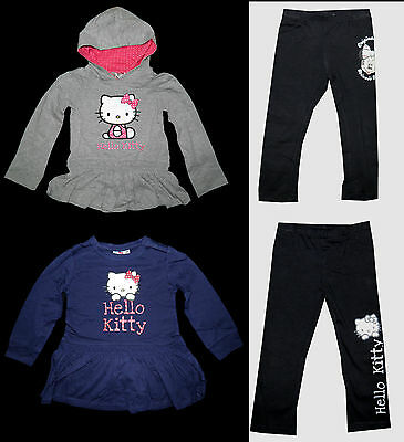 Disney Minnie Kleid (Tunika Kleid Leggings Hello Kitty Disney Minnie 104 - 140 Shirt langarm)
