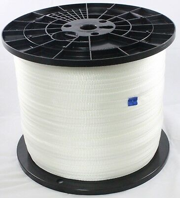 Cajun Mule Line - 58 Inch - 1800 Lb. - Pull Tape - Polyester - 3000 Feet -usa