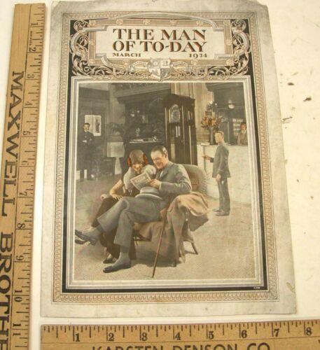 VINTAGE 1924 MAN OF TODAY MEN